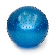 Hang On, It's Going to Be a Bumpy Ride!  Smooth yet bumpy is how we describe our Tactile Sensory Ball. This eye-catching exercise ball is covered with hundreds of small bumps that make regular exercis