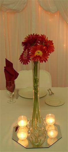 daisy centerpiece idea
