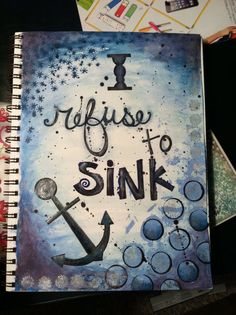 """""""I refuse to sink.I refuse to give up.Because of the end of the day i realize i have a lot of motherfuckers to prove wrong."""""""