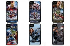 Avengers phone cases