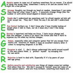 So true. #Aspergers #aspergersproblems #imsinglebecause #aspergersawareness