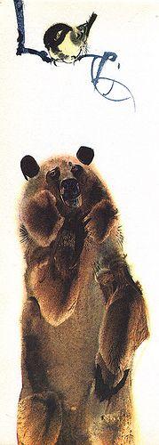 Mirko Hanak - Animal Folk Tales - Bear | by moonflygirl