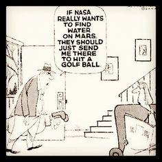The Fashion-Caddy™ Blog: NASA Should Send Golfers to Mars!