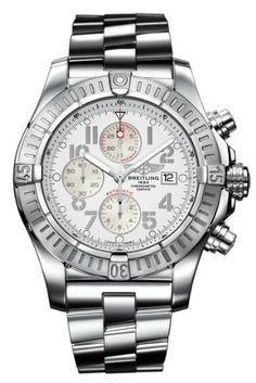 Breitling Super Avenger Chronograph Stainless Steel Mens Watch A1337011-A699 Breitling,http://www.amazon.com/dp/B00848VDDS/ref=cm_sw_r_pi_dp_eL93sb036SK5KS7E