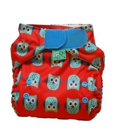 Frugi Nappy - Owls
