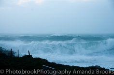 Massive waves in Cornwall