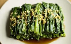 In celebration of Chinese New Year, here is a classic spinach recipe from   Fuchsia Dunlop.
