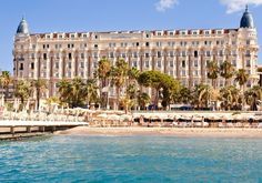 Carlton Intercontinental Hotel , Cannes, France.  I miss being there!