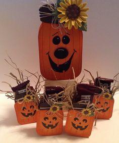 Mason Jar pumpkin family dianespaperdesigns.typepad.com