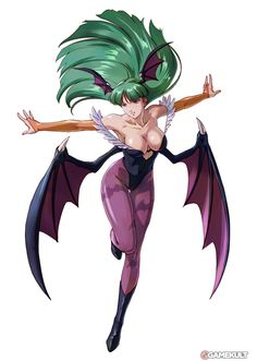 Morrigan - Project X Zone.