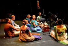 The ISKCON 50th event in BOZAR – Centre des Beaux-Arts, Brussels.  (Album with photos)  Kripamoya Dasa: Ananda sang from her Mahabharata album 'Inevitable Time' (  and the Samadhi…