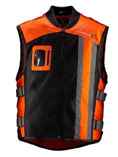 women safety vest | Modern Vespa : Women's Hi-Viz Vest