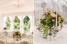 Jodie&Gerard's beautiful wedding – Clonabreany House Flower Ideas, Candelabra, Wedding Styles, Table Decorations, Flowers, Photography, House, Beautiful, Home Decor