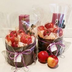 Holiday Gift Baskets, Basket Gift, Fruit Hampers, Vegetable Bouquet, Creative Gift Baskets, Homemade Gift Baskets, Fruit Creations, Pomegranate Recipes, Edible Bouquets