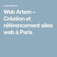 Web Artem – Création et référencement sites web à Paris