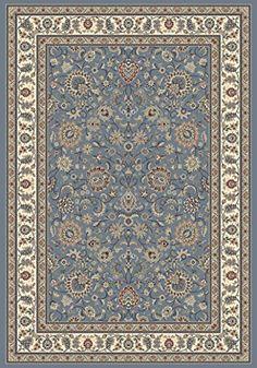 "Nubrisa Davinci Kashan 54 Blue Rectangle 5' 3"" X 7' 7"" Traditional Area Rug Nubrisa http://www.amazon.com/dp/B00MJ4X9P8/ref=cm_sw_r_pi_dp_9AyUub0QKHNHC"