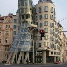 Photo Tour Around Prague: The Dancing Building, New Town Prague