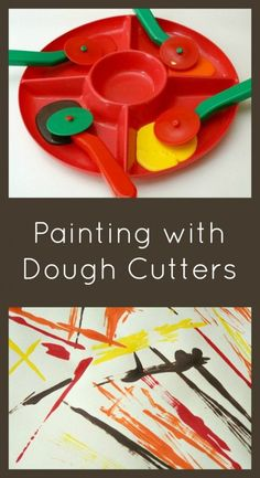 Paint with Dough Cutters