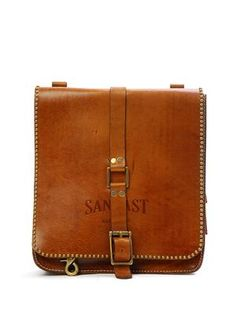 Charles Leather Bag (Rust)