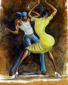 , aka Ernie Barnes (July 1938 - April is considered one of the leading African-American painters and is well-known for… African American Artwork, African Art, Arte Do Hip Hop, Art Beauté, Drawn Art, Black Art Pictures, Black Love Art, Art Africain, Black Artwork