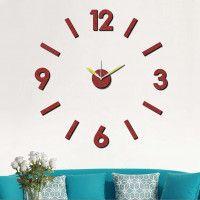 Nalepovacie nástenné hodiny, MPM 3775.20, 75cm London Clock, Pendulum Wall Clock, Diy Clock, Triangle