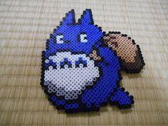 アイロンビーズ - のんのんBLOG Studio Ghibli, Pearler Beads, Fuse Beads, Hama Beads Patterns, Beading Patterns, Totoro, Manga Anime, Pixel Pattern, Iron Beads
