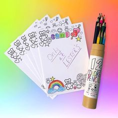 Coloring Stationery Exclusively for Lester's! Other camp styles available. #lesters #camplesters 😍✏️🖍