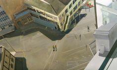 Matthew Carter. Walking Space. Matthew Carter, Street Art, Walking, Cityscapes, Cities, Environment, Paintings, Urban, Artists