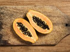 PAPAYA A whole papaya contains more than 300 percent of the recommended daily value of vitamin C, plus a significant amount of folate, potas...