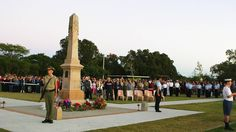 Redland Bay is now a popular Dawn Service on Anzac Day for the southern end of the city. Photo Melissa Gibson