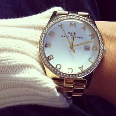 Marc by Marc Jacobs Henry watch with Glitz, via Stop Idealizing