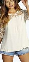 boohoo Crochet Panel 3/4 Sleeve Blouse - cream azz12555 Make your top a talking point with textures - think brocades, quilting and fluffy-feel. Jersey kinda gal? Shake it up with shapes. Crop tops get cutting edge in boxy, boyfriend fit shapes and shell to http://www.comparestoreprices.co.uk/blouses/boohoo-crochet-panel-3-4-sleeve-blouse--cream-azz12555.asp