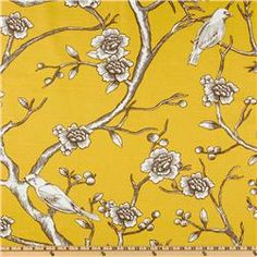 Dwell Studio Vintage Blossom Citrine  Item Number: UI-133  Our Price: $18.98 per Yard