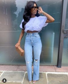 Oufits Casual, Cute Casual Outfits, Simple Outfits, Chic Outfits, Casual Chic, Spring Outfits, Fashion Outfits, Black Girl Fashion, Look Fashion