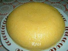 Rozi erdélyi,székely konyhája: Puliszka készítése Honeydew, Polenta, Pudding, Lunch, Cheese, Meals, Baking, Fruit, Desserts