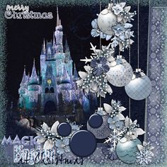 Blue Christmas Quickpages by Trixie Scraps Designs