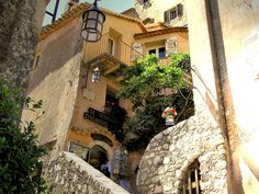 enchanting perched village of Eze, French Riviera
