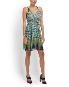 Silk Printed Tank Dress