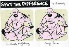 Still the Best Medicine....Ultimate Fighting vs Gay Porn