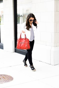 Jacket : Top : Jeans : Shoes : Bag : Sunnies  This year, Chicago has been seeing some warm days and cold nights.  While I wait for summer to officially get here, I like to stick to jeans for…