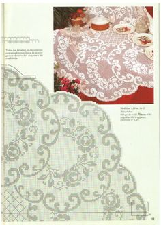 Τριαντάφυλλα που μαγεύουν πλεγμένα σε δαντέλα, Δαντέλες πλεκτές, σχέδια, Χρήσιμες οδηγίες, Τραπεζομάντηλα, Roses knitted lace, knitted lace, instructions, Tablecloths, Roses dentelle tricotée, dentelle tricotée, instructions, Nappes