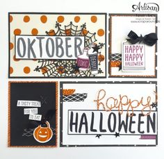 Project Life - Stampin' Up! Project Life, Happy Halloween, Yummy Treats, Stampin Up, Alphabet, Artisan, Scrapbooking, Letters, Mini