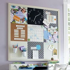 The ultimate in wall organization keeps getting better. Keep track of your due dates, drawings, photos and more with our completely customizable style tile system. Teen Bedding, Pottery Barn Teen, Style Tile, Pbteen, Wall Organization, Getting Organized, Interior Design Living Room, Diy Room Decor, Decoration