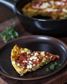 Zucchini Frittata from Steamy Kitchen (http://punchfork.com/recipe/Zucchini-Frittata-Steamy-Kitchen)