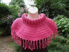 #Crochet Chunky Cow Neck Cowl #TUTORIAL
