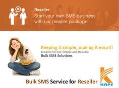 Bulk sms service for reseller