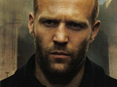 Jason Statham, the man with the perpetual 5 o'clock shadow