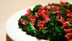 A bunch of healthy, toaster oven recipes. Includes broccoli with crispy prosciutto (pictured)