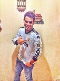 Yo con la camisa del mejor equipo / me with the shirt, the best team in the world