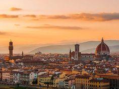 Firenze Panorama luce tramonto